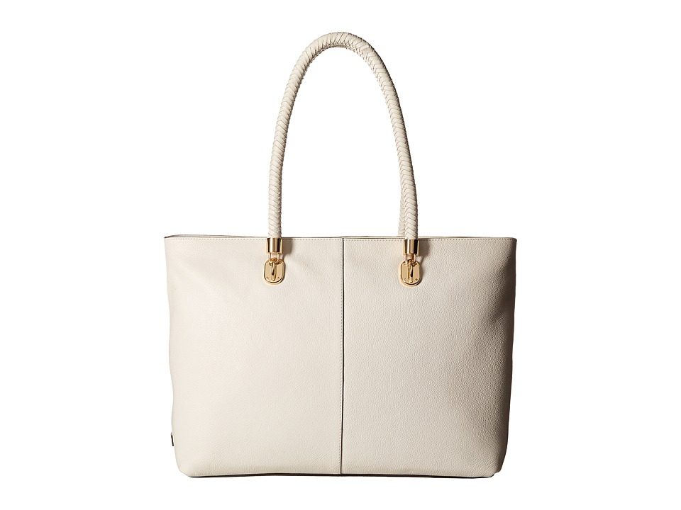 Cole Haan - Benson Large Top Zip Tote (Ivory) Tote Handbags