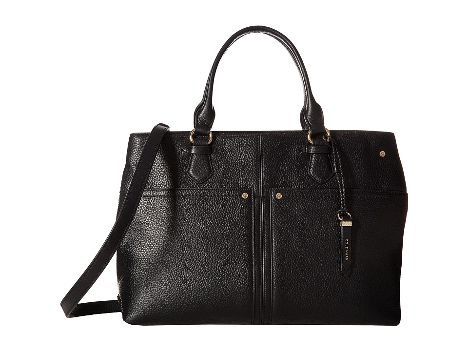 Cole Haan - Ilianna Satchel (Black) Satchel Handbags