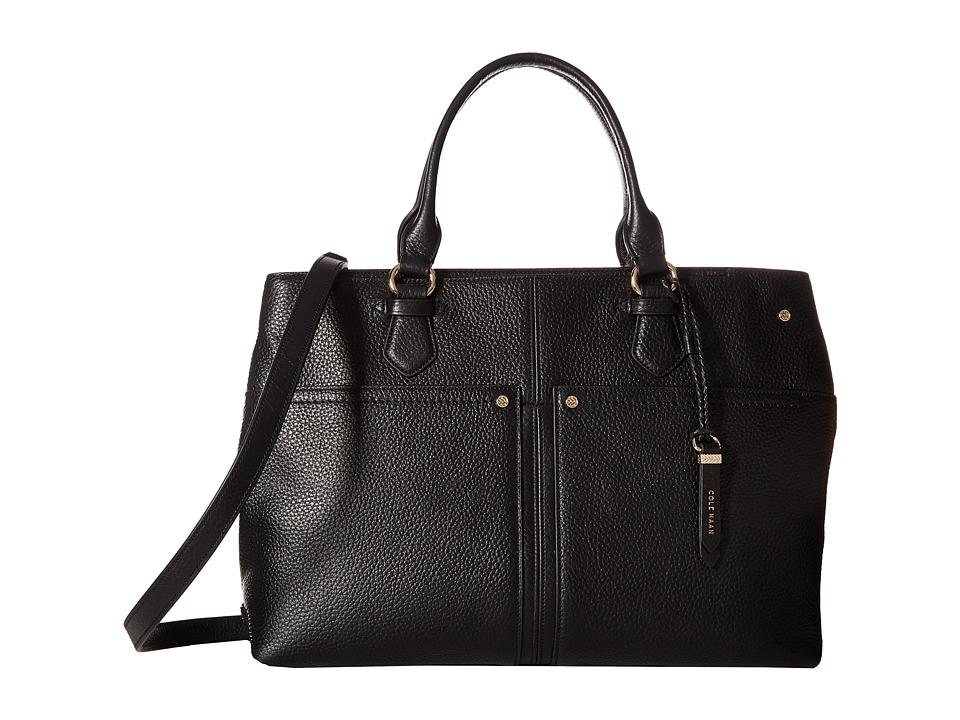 Cole Haan - Ilianna Satchel (Black) Satchel Handbags