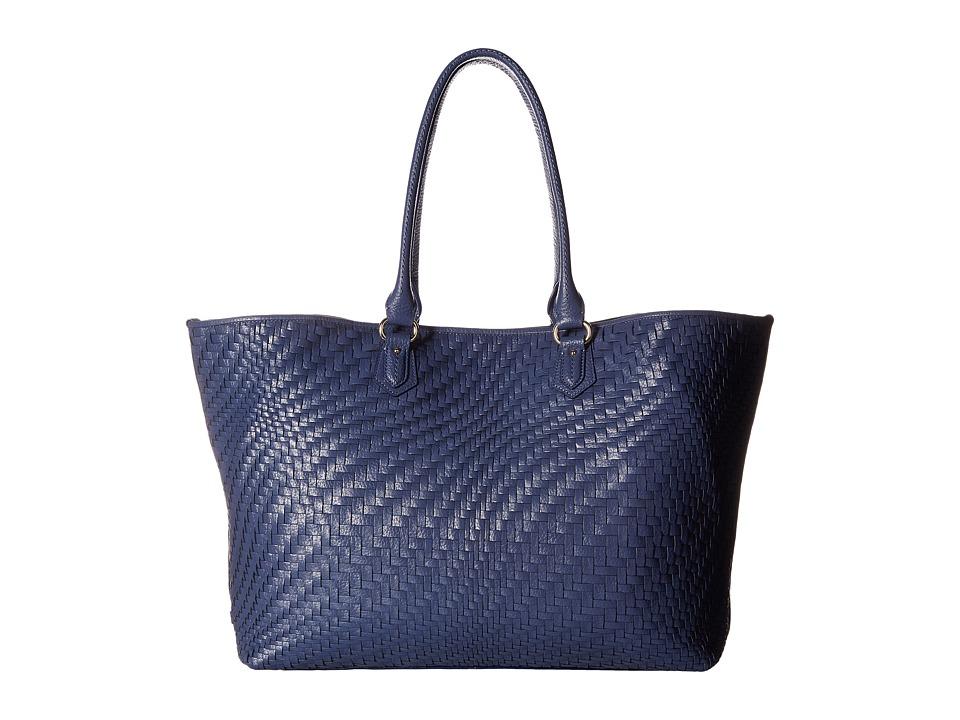 Cole Haan - Lena II Tote (Washed Indigo) Tote Handbags