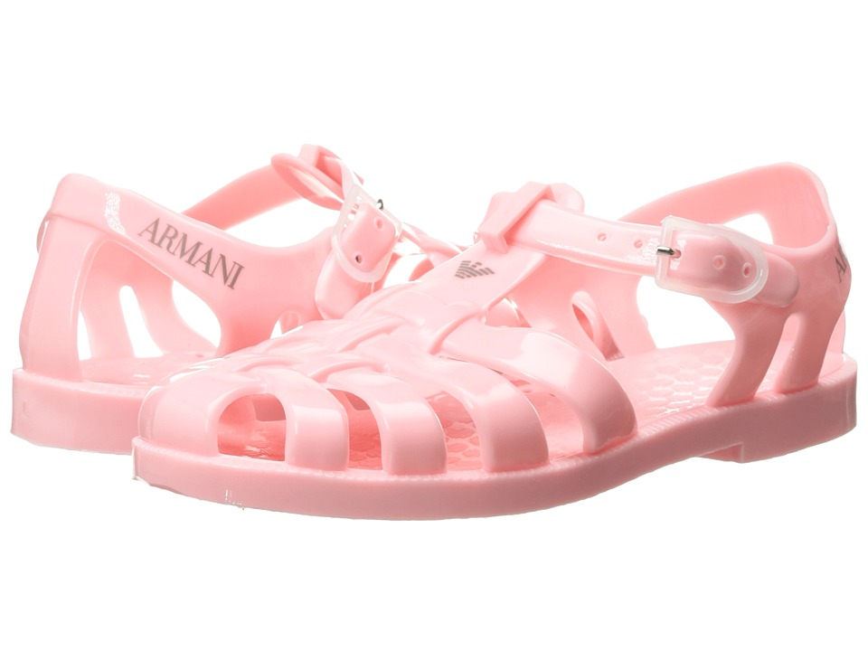 Armani Junior - Jelly Sandal (Toddler) (Solid Light/Pastel Pink) Girls Shoes
