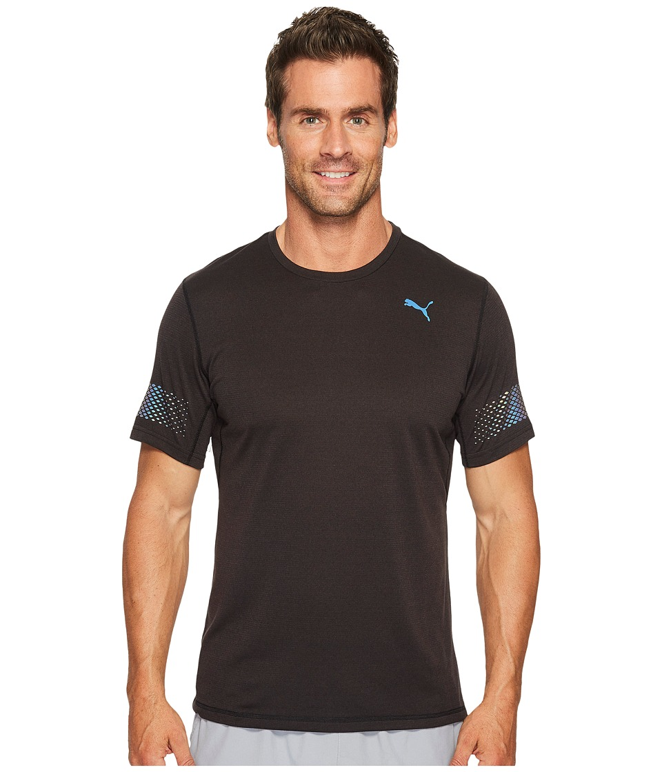 PUMA - Nightcat Short Sleeve Tee (PUMA Black) Men's T Shirt