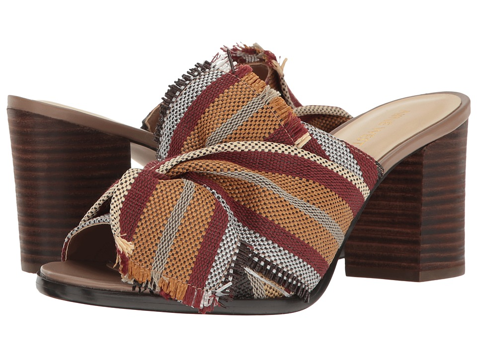 Nine West - Byron 2 (Dark Red Multi Fabric) Women's Shoes