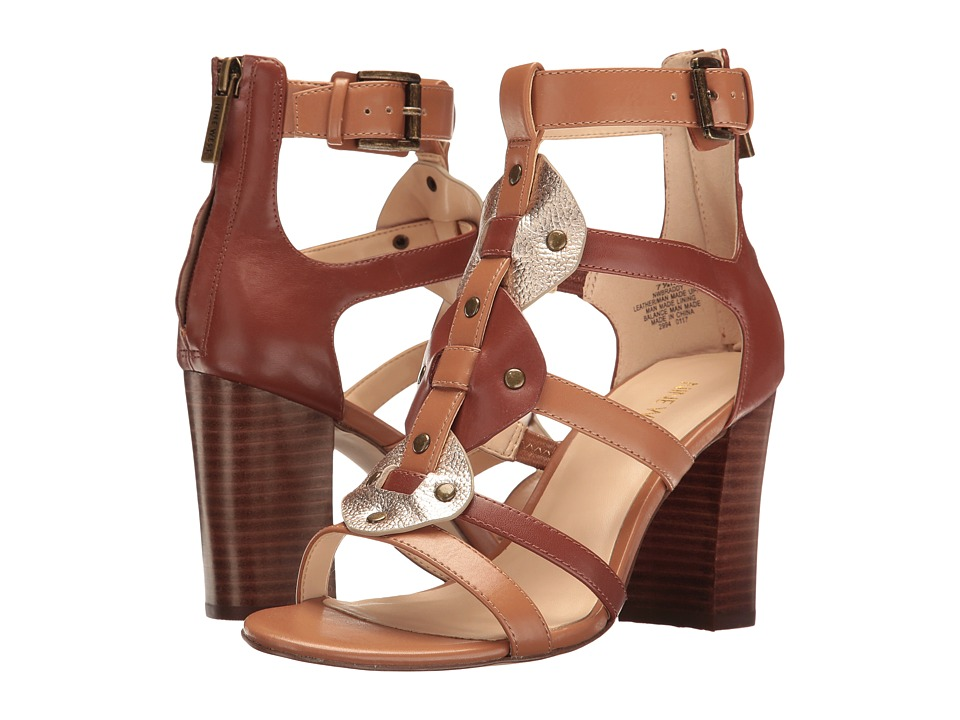 Nine West Braddy 3 (Cognac Multi Synthetic) Women
