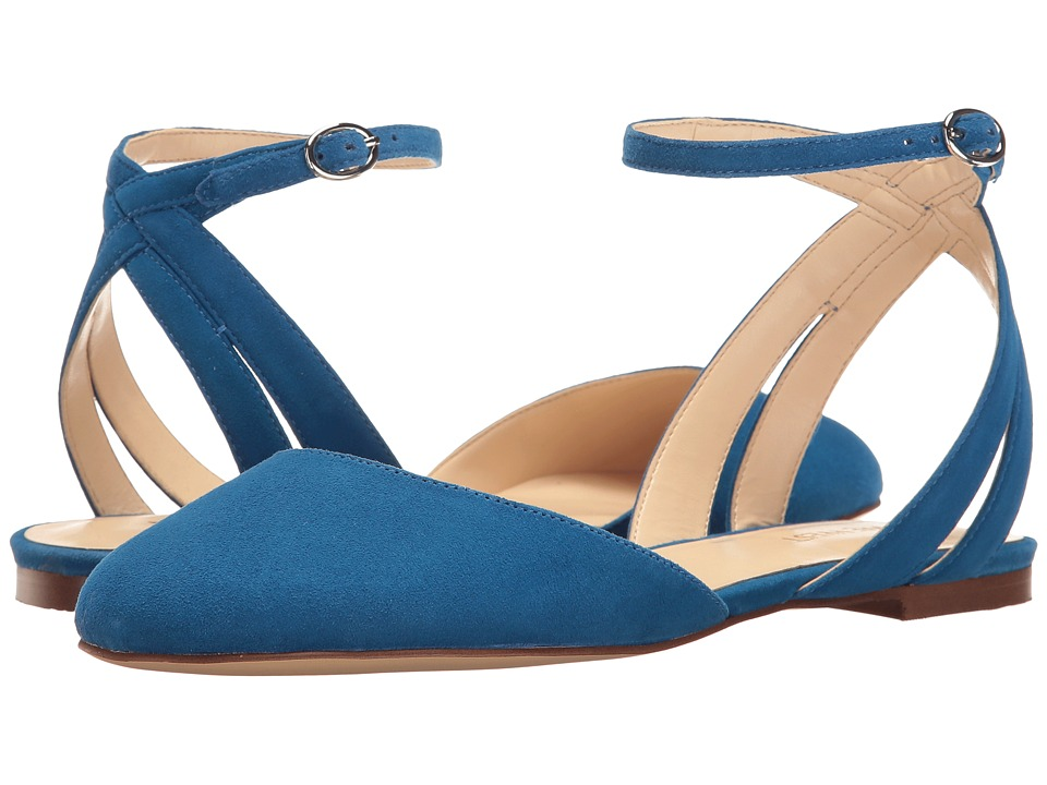 Nine West Begany (Blue Suede) Women