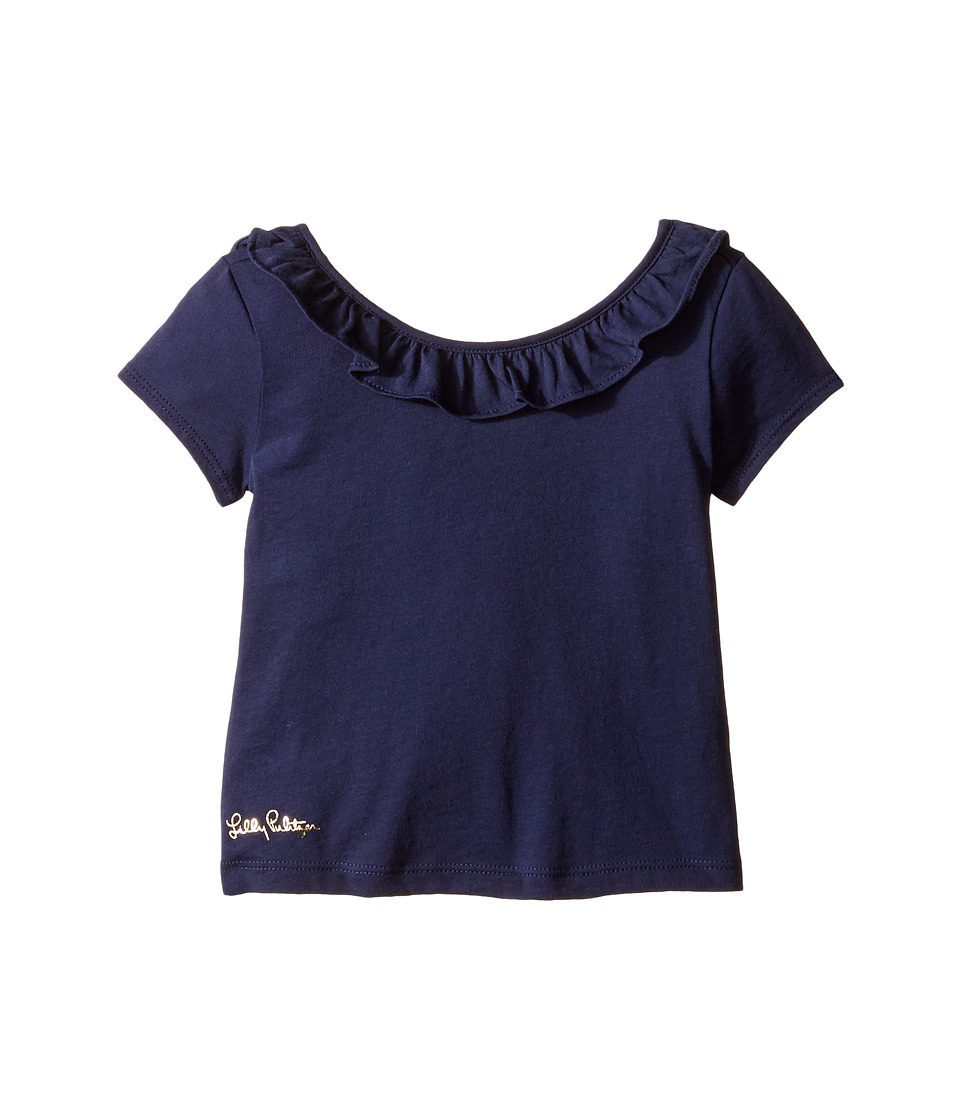 Lilly Pulitzer Kids - Brit Top (Toddler/Little Kids/Big Kids) (True Navy) Girl's Clothing