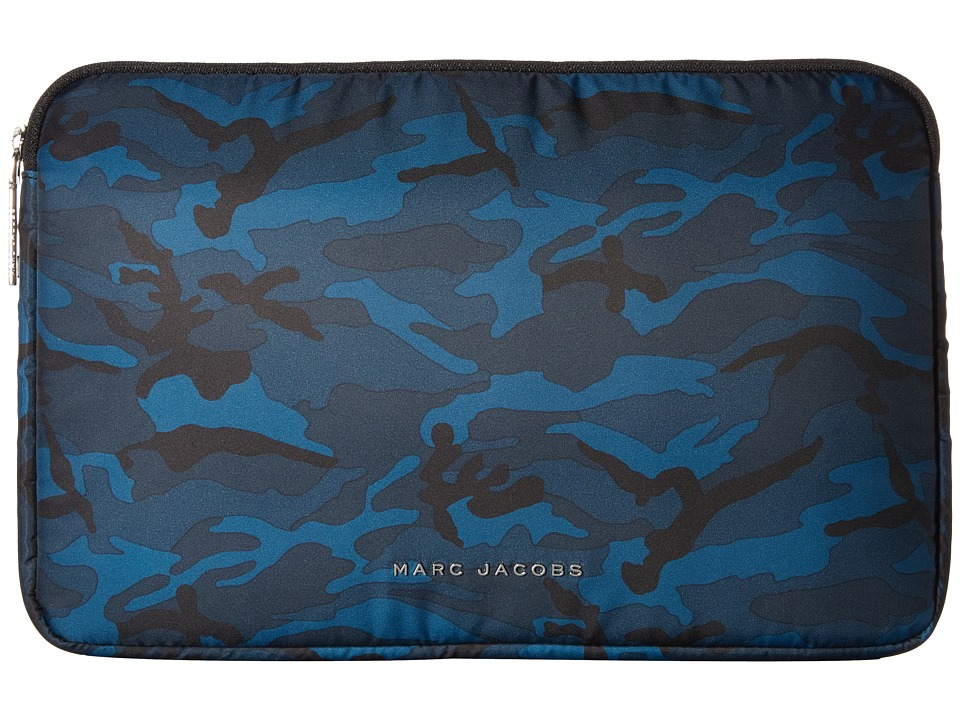 Marc Jacobs - Byot Camo 13 Computer Case (Navy Multi) Computer Bags