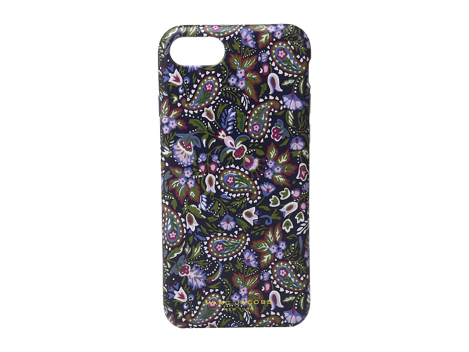 Marc Jacobs - Garden Paisley iphone 7 Case (Purple Multi) Cell Phone Case