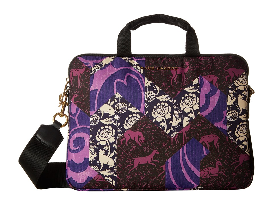 Marc Jacobs - Byot Tapestry 13 Commuter Case (Black Multi) Computer Bags