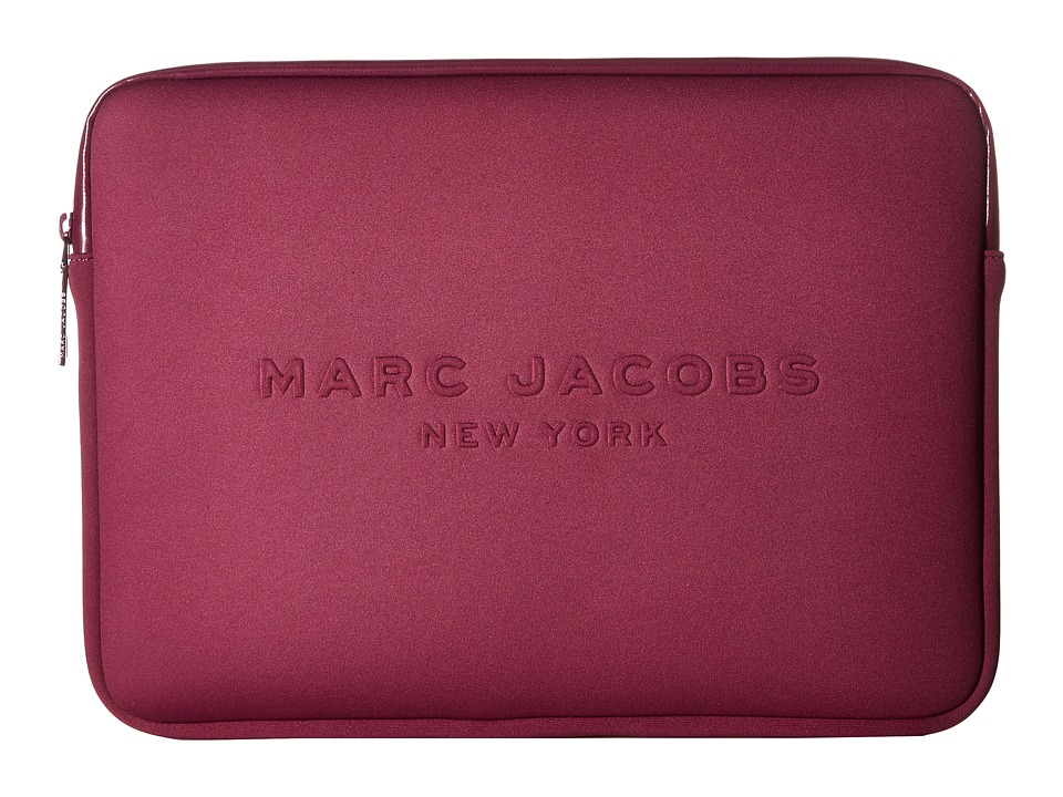 Marc Jacobs - Neoprene Tech 13 Computer Case (Berry) Computer Bags