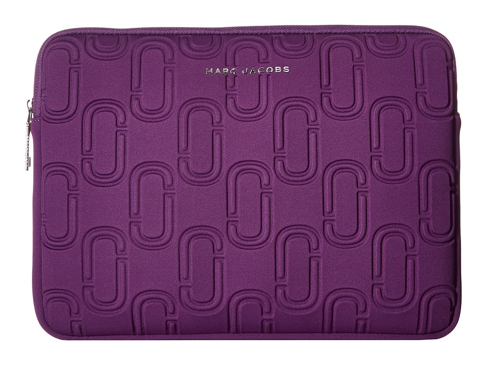 Marc Jacobs - 13 Double J Neoprene Computer Case (Purple) Wallet