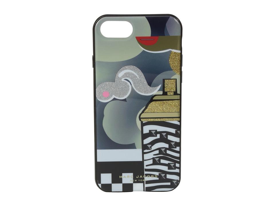 Marc Jacobs - Clouds Julie Verhoeven iphone 7 Cases (Black Multi) Cell Phone Case