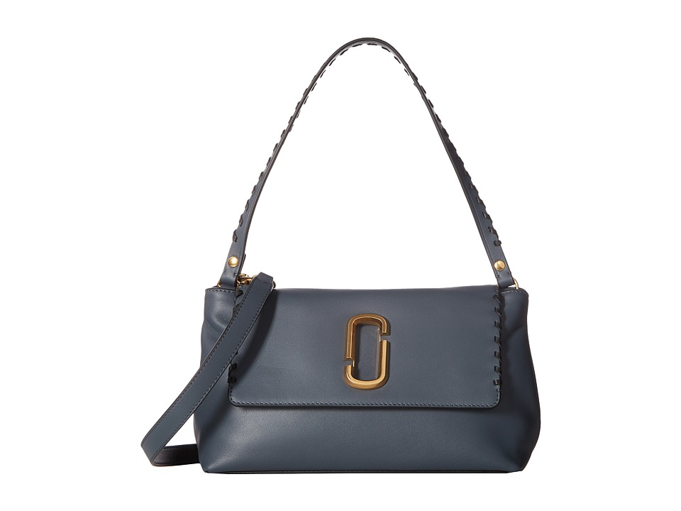 Marc Jacobs - Noho Shoulder Bag (Slate) Shoulder Handbags