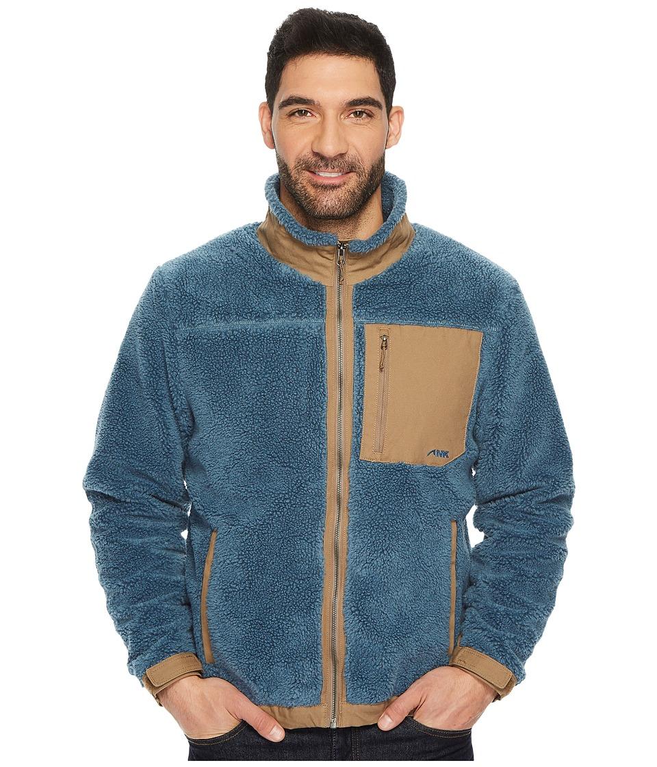 Mountain Khakis Fourteener Fleece Jacket (Steel Blue) Men