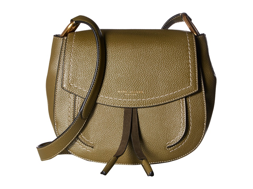 Marc Jacobs - Maverick Shoulder Bag (Army Green) Shoulder Handbags