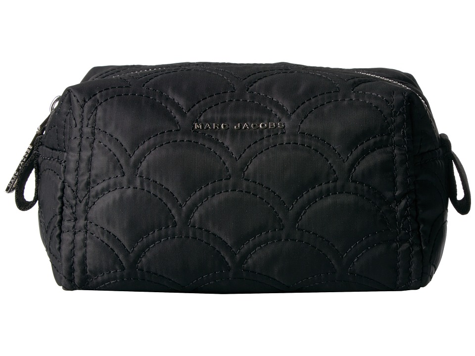Marc Jacobs - Easy Matelasse Large Cosmetic (Black) Cosmetic Case