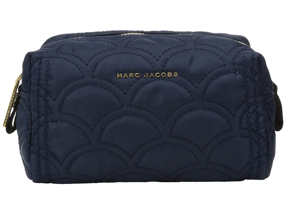 Marc Jacobs - Easy Matelasse Large Cosmetic (Midnight Blue) Cosmetic Case