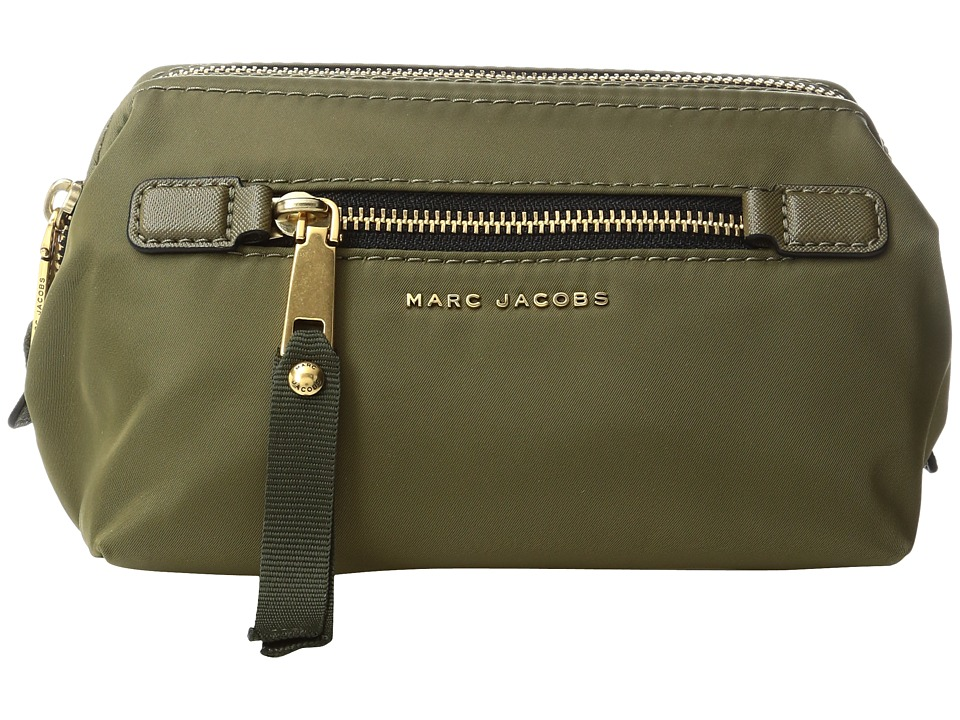 Marc Jacobs - Trooper Framed Big Bliz Cosmetics Case (Army Green) Cosmetic Case
