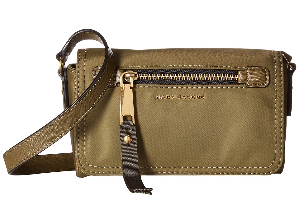 Marc Jacobs - Trooper Crossbody (Army Green) Cross Body Handbags