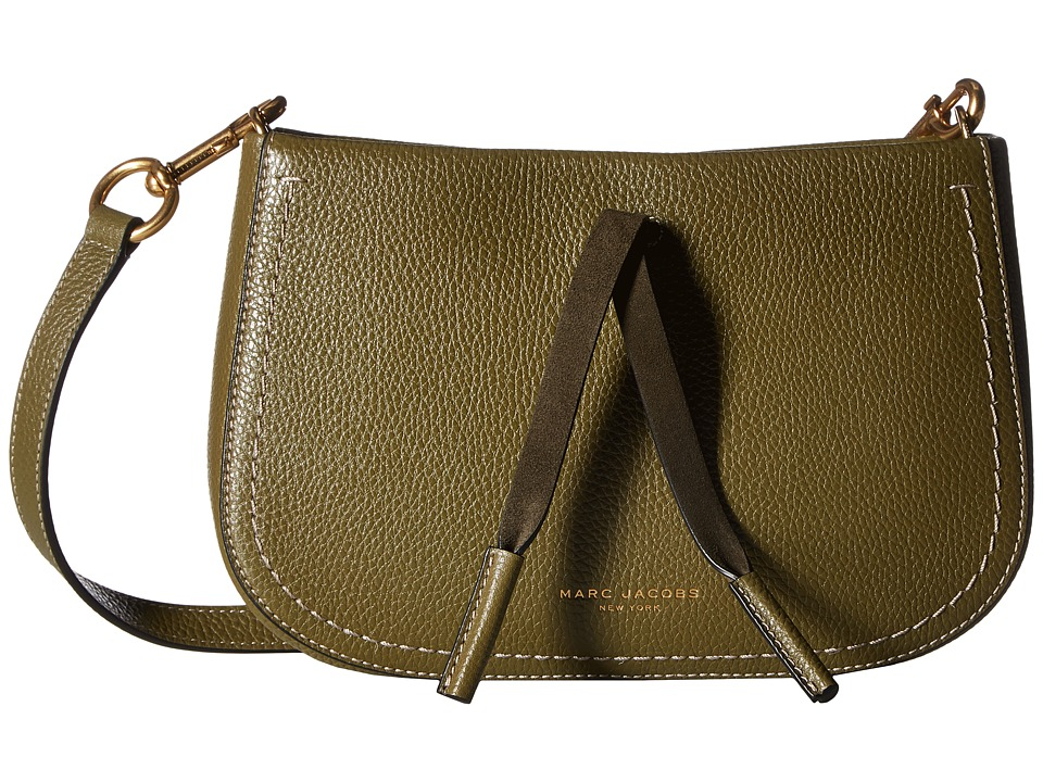 Marc Jacobs - Maverick Crossbody (Army Green) Cross Body Handbags