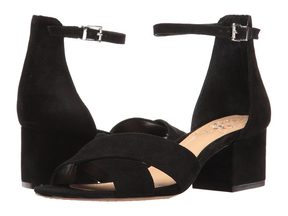 Vince Camuto - Florrie (Black True Suede) Women's Shoes