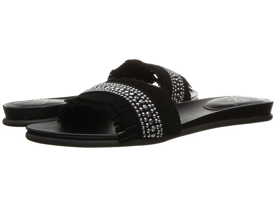 Vince Camuto - Ettina (Black True Suede) Women's Shoes