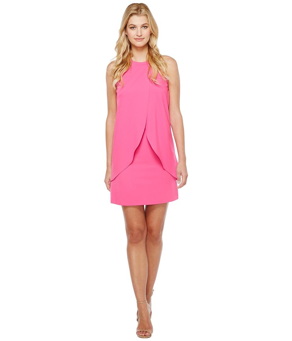 Tahari by ASL - Tulip Shift Dress (Magenta) Women's Dress