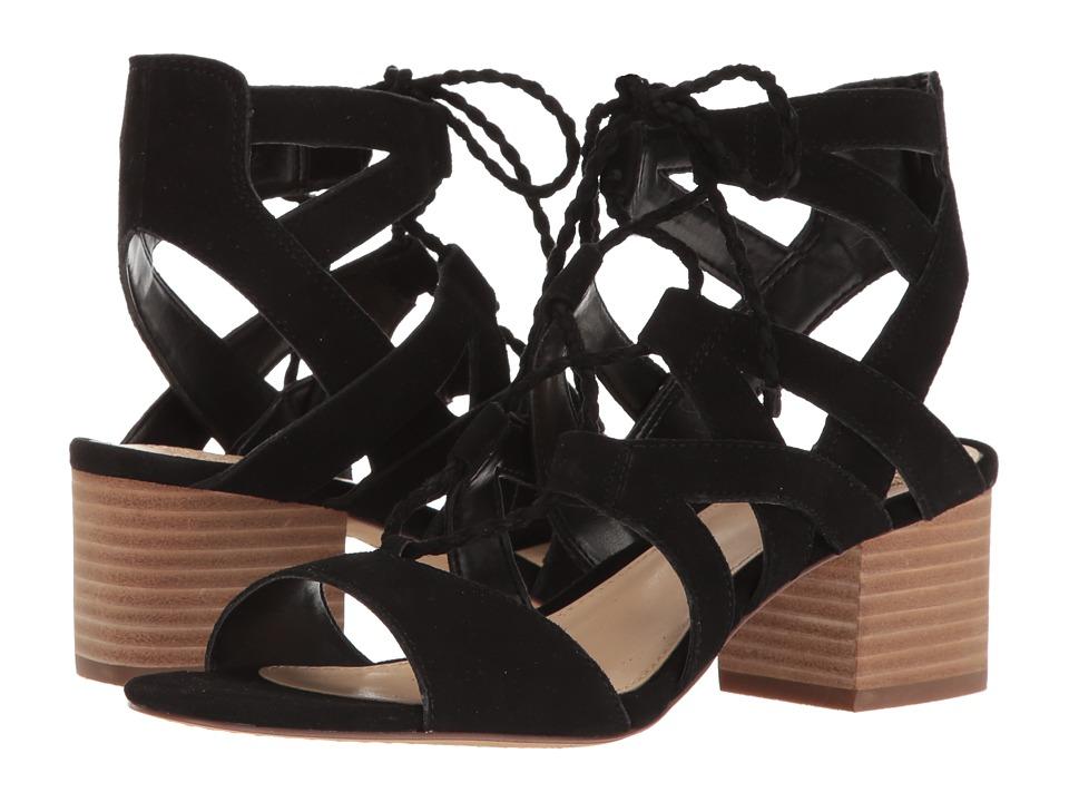 Vince Camuto - Fauna (Black True Suede) Women's Shoes