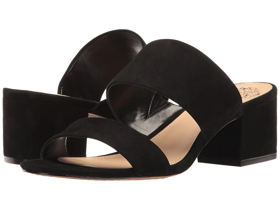 Vince Camuto - Franine (Black True Suede) Women's Shoes