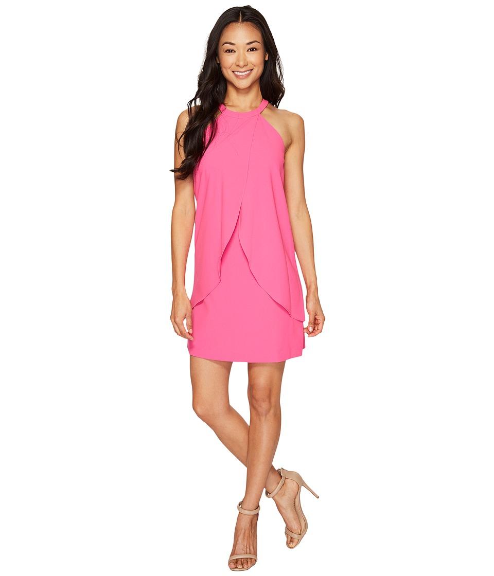 Tahari by ASL Petite - Petite Tulip Shift Dress (Magenta) Women's Dress