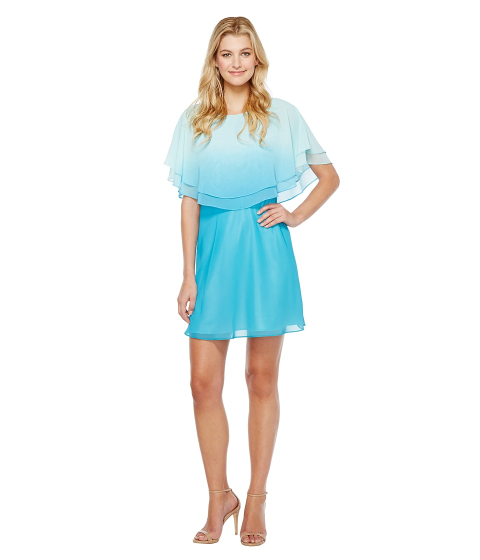 Tahari by ASL Ombre Popover Dress