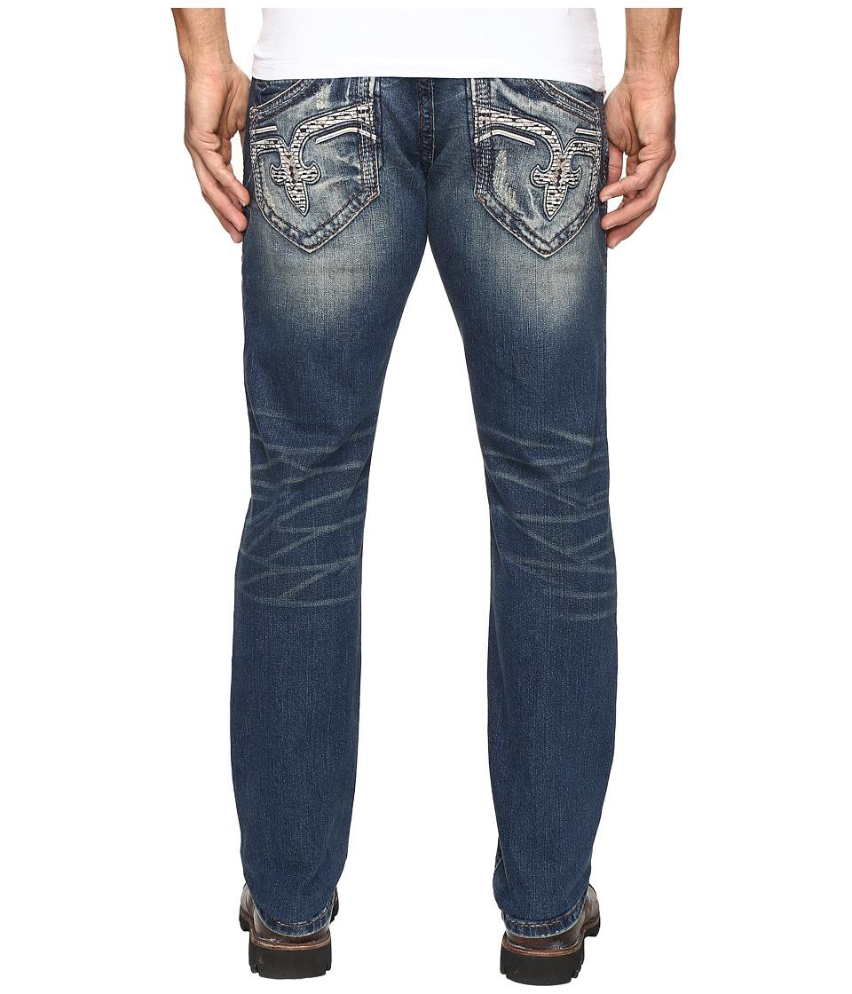 Rock Revival - Tomashi A202 (Vintage Blue) Men's Jeans
