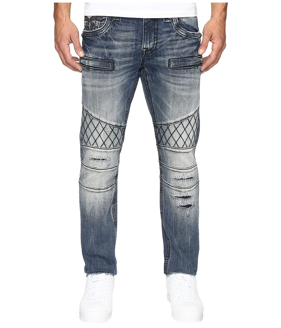 Rock Revival - Pierre K17 (Medium Blue) Men's Jeans