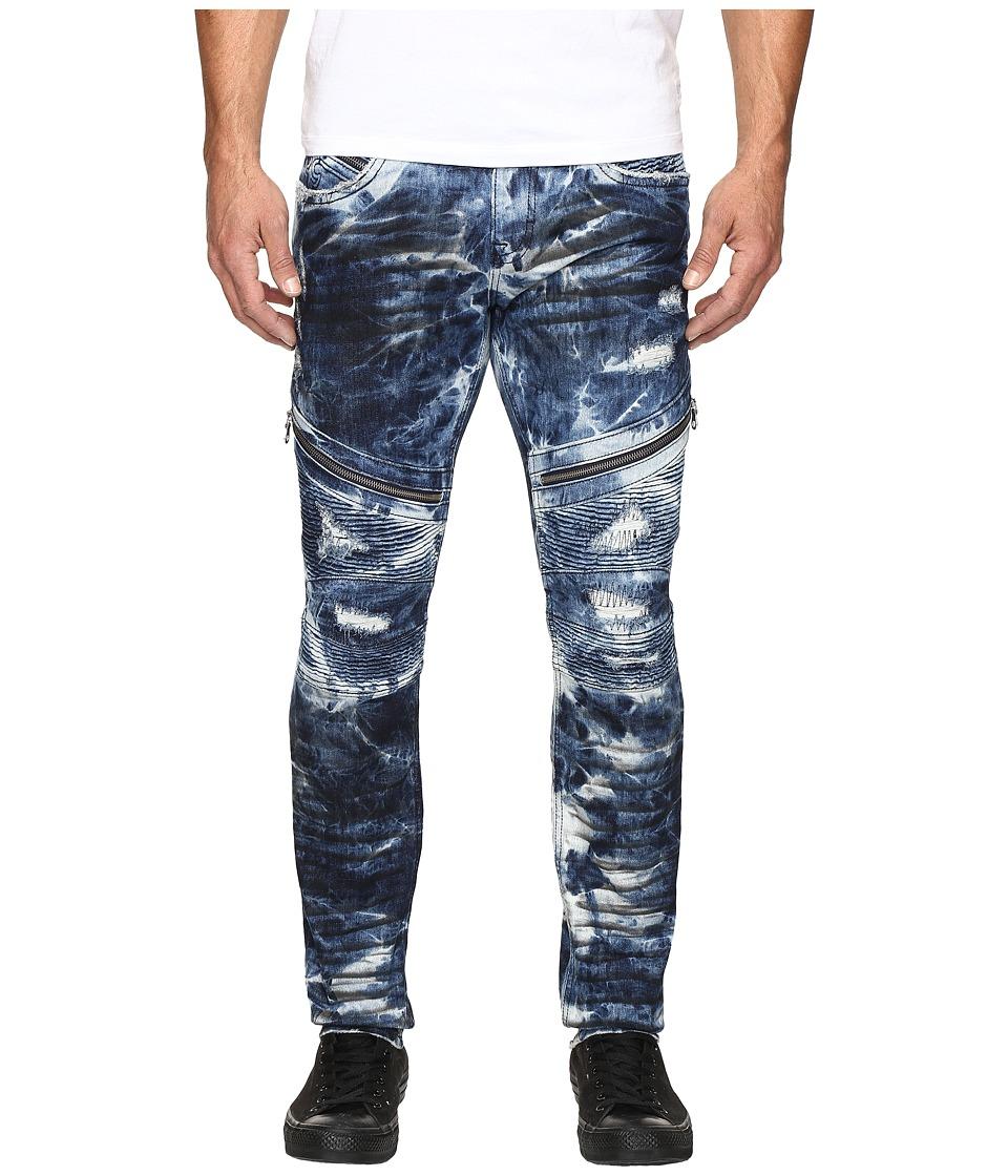 Rock Revival - Daviday S211 (Tie-Dye Blue) Men's Jeans
