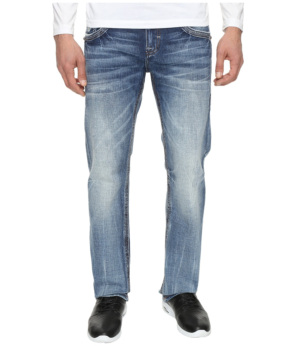 Rock Revival - Baille J202 (Medium Blue) Men's Jeans