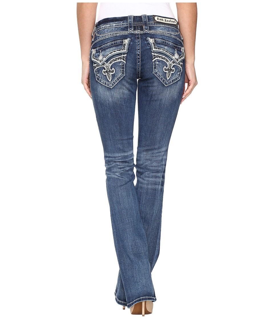 Rock Revival - Kailyn B210 (Medium Blue) Women's Jeans