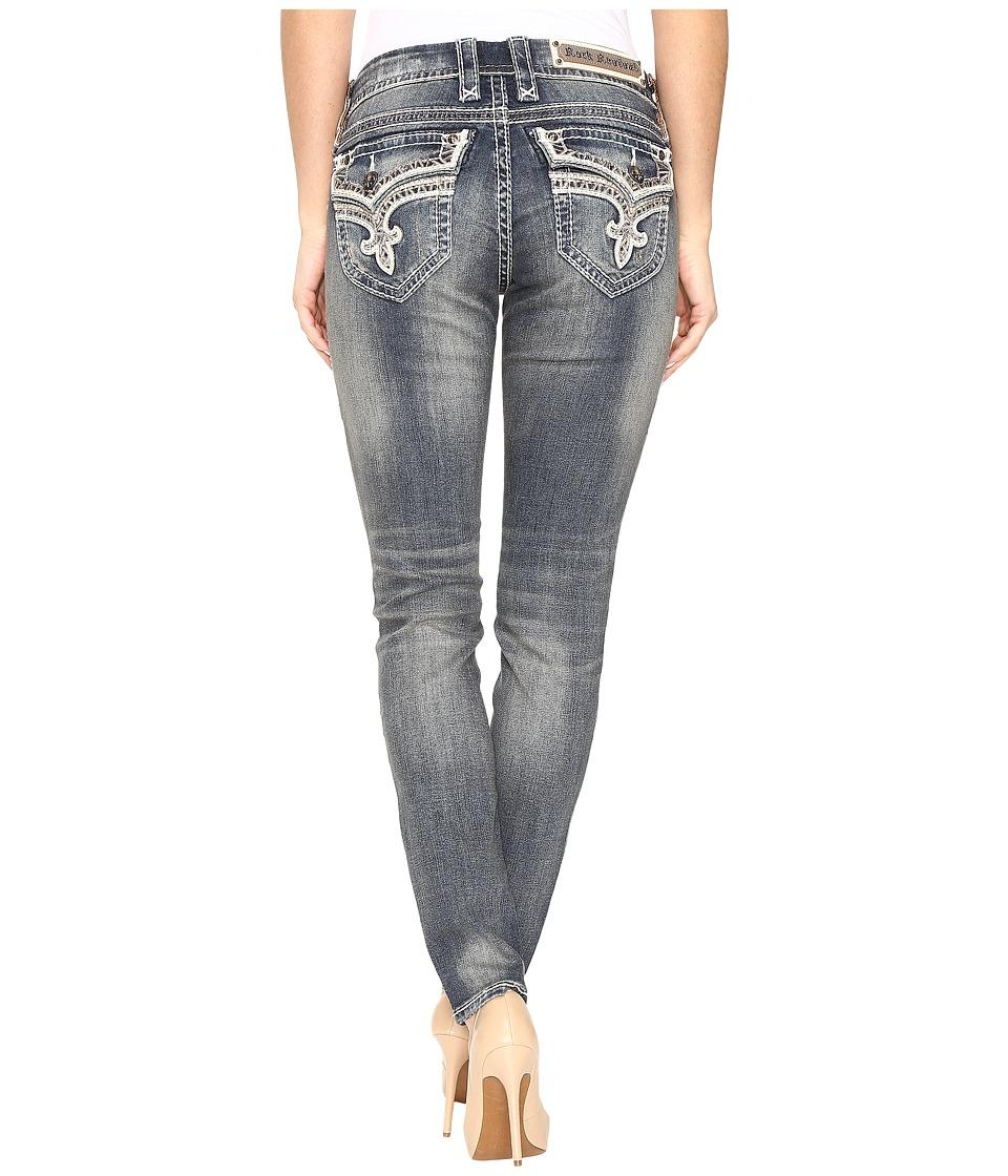 Rock Revival - Mare S202 (Vintage Blue) Women's Jeans