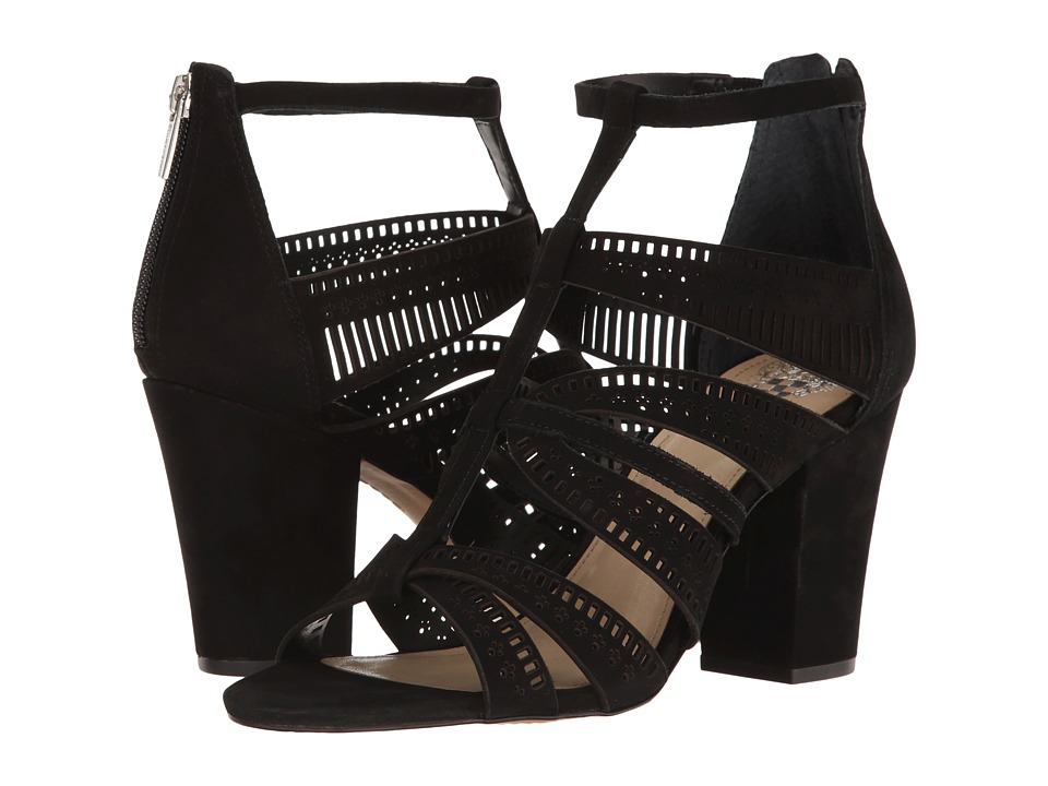 Vince Camuto - Nizana (Black Nubuck) Women's Shoes