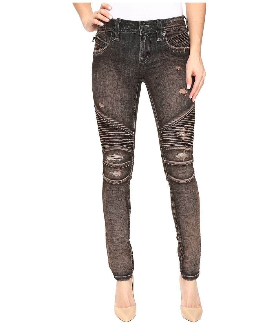 Rock Revival - Nelrose S204 (Dark Brown) Women's Jeans