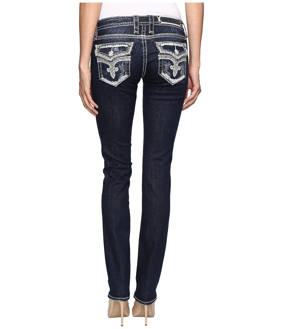 Rock Revival - Ena J26 (Dark Blue) Women's Jeans
