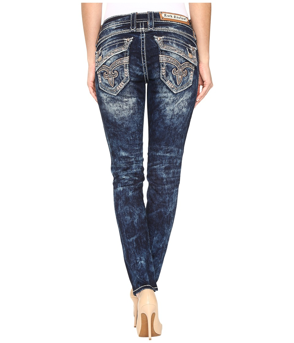 Rock Revival - Johanna S205 (Acid Blue) Women's Jeans