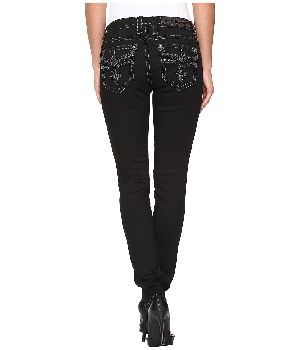 Rock Revival - Ena S25 (Black) Women's Jeans