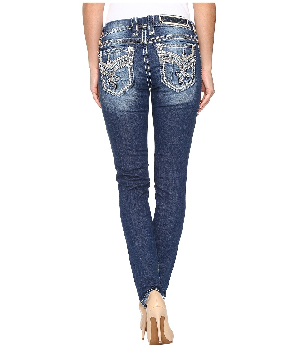 Rock Revival - Coe S206 (Medium Blue) Women's Jeans