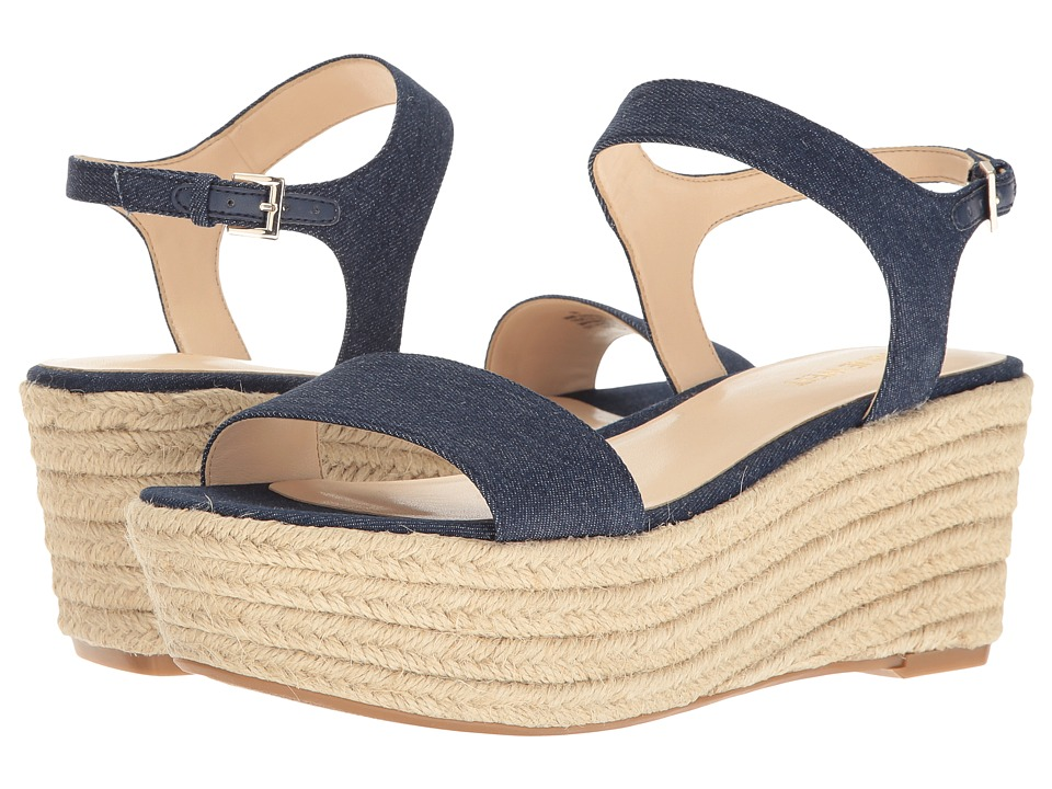 Nine West - Flownder (Blue Denim) Women's Shoes