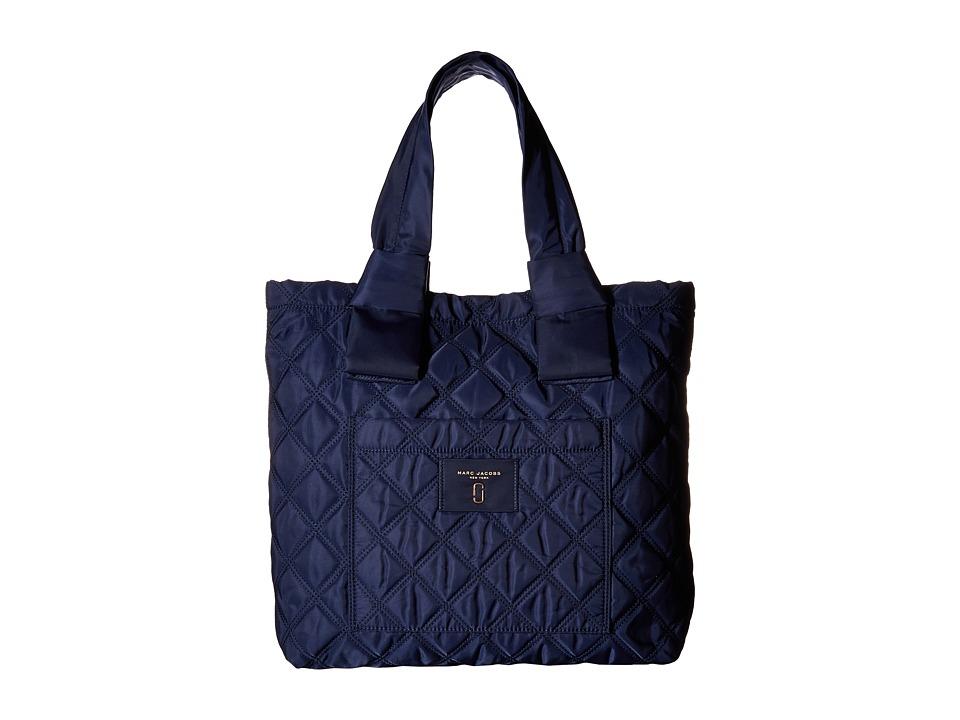 Marc Jacobs - Nylon Knot Tote (Midnight Blue) Tote Handbags