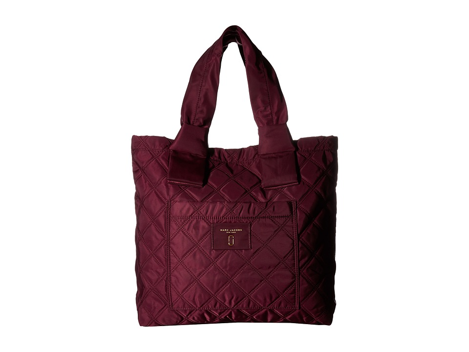 Marc Jacobs - Nylon Knot Tote (Plum) Tote Handbags