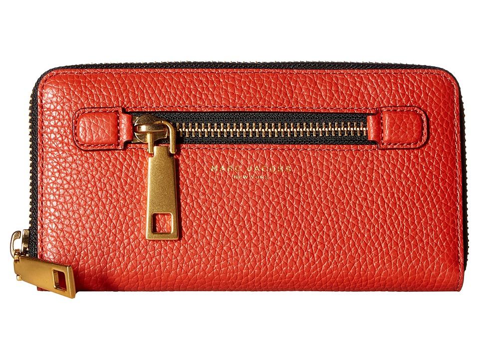 Marc Jacobs - Gotham Continental Wallet (Copper) Wallet Handbags