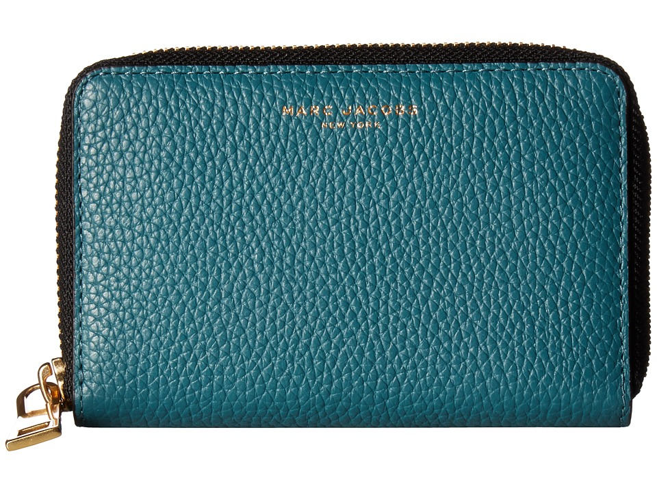 Marc Jacobs - Gotham Small Standard Wallet (Pacific) Wallet Handbags