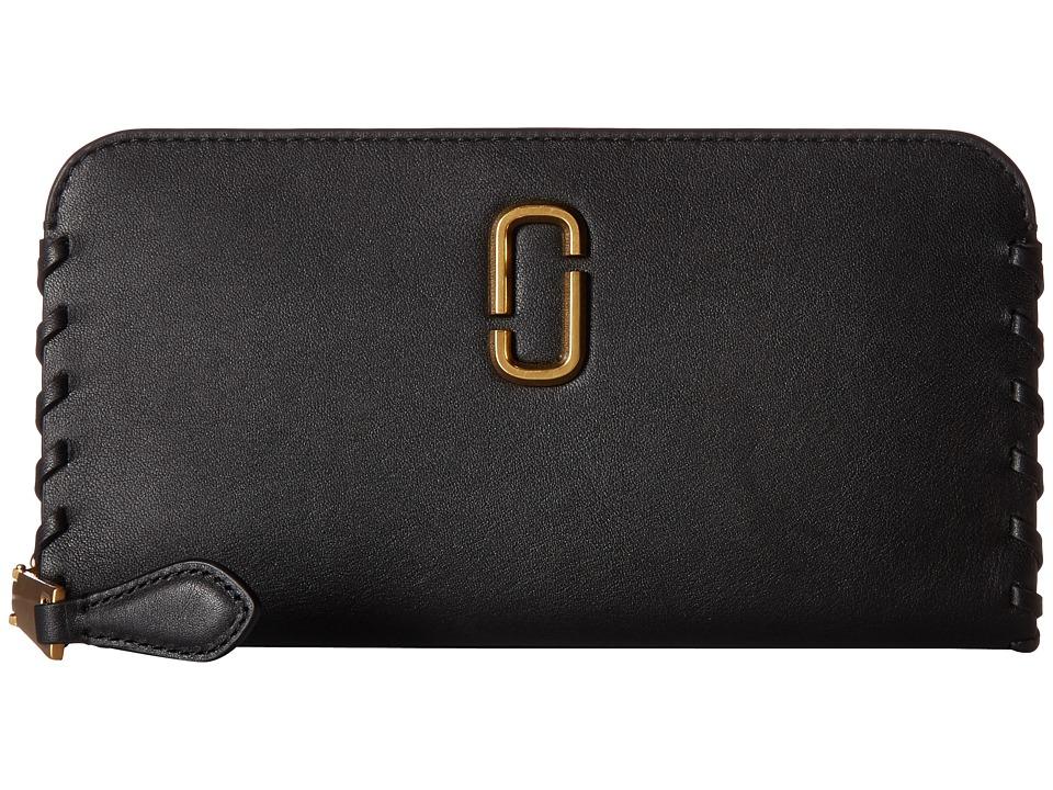Marc Jacobs - Noho Standard Continental Wallet (Black) Wallet Handbags