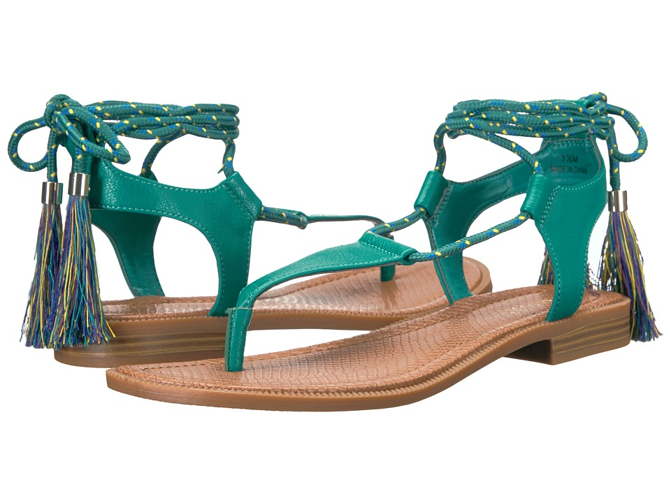 Nine West - Gannon 3 (Dark Turquoise Synthetic) Women's Shoes